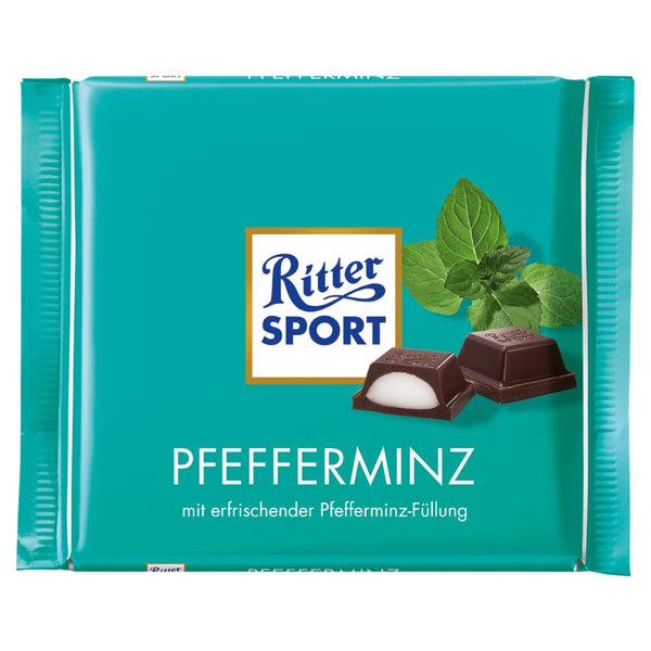 Ritter Sport - Mint Chocolate - Chocolate & More Delights