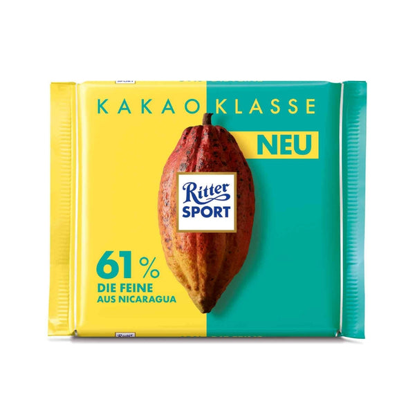 Ritter Sport Single Origin Chocolate Nicaragua 61% - Chocolate & More Delights