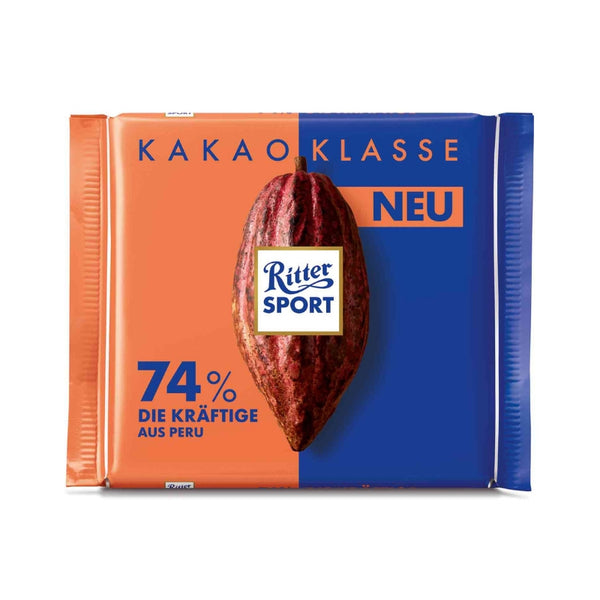 Ritter Sport Single Origin Chocolate Peru 74% - Chocolate & More Delights
