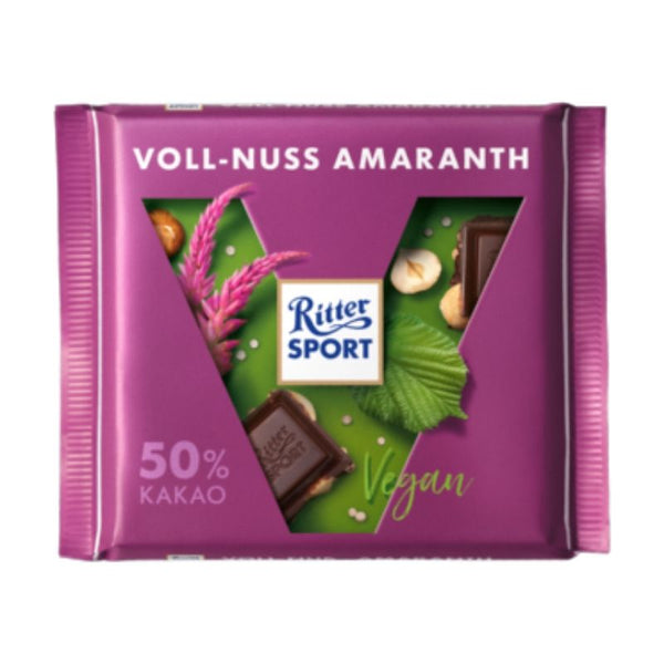 Ritter Sport Whole Nuts Amaranth - Chocolate & More Delights