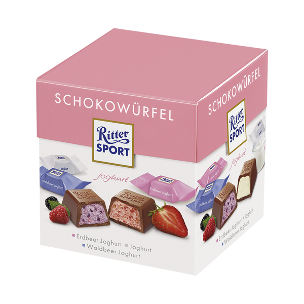 Ritter Sport Box Yogurt-Chocolate Minis-Chocolate & More Delights
