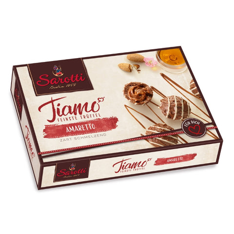 Sarotti Tiamo Chocolate Truffles Amaretto - Chocolate & More Delights