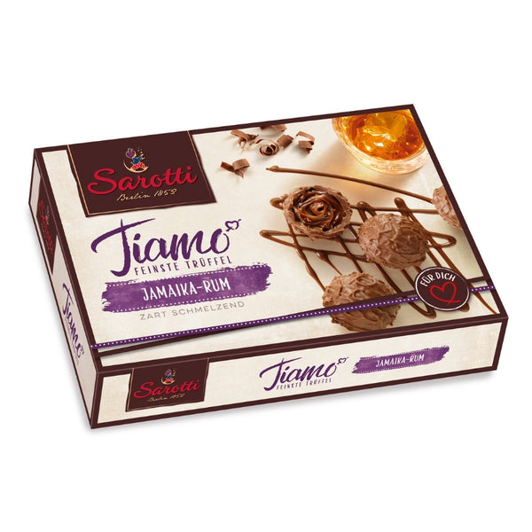 Sarotti Tiamo Chocolate Truffles Jamaica Rum - Chocolate & More Delights