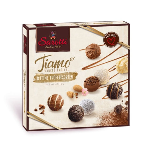 Sarotti Tiamo Finest Chocolate Truffles Variety - Chocolate & More Delights