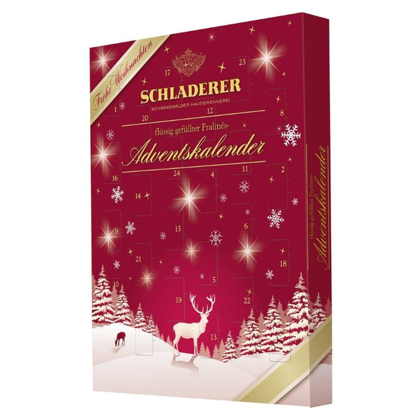 Schladerer Advent Calendar - Chocolate & More Delights