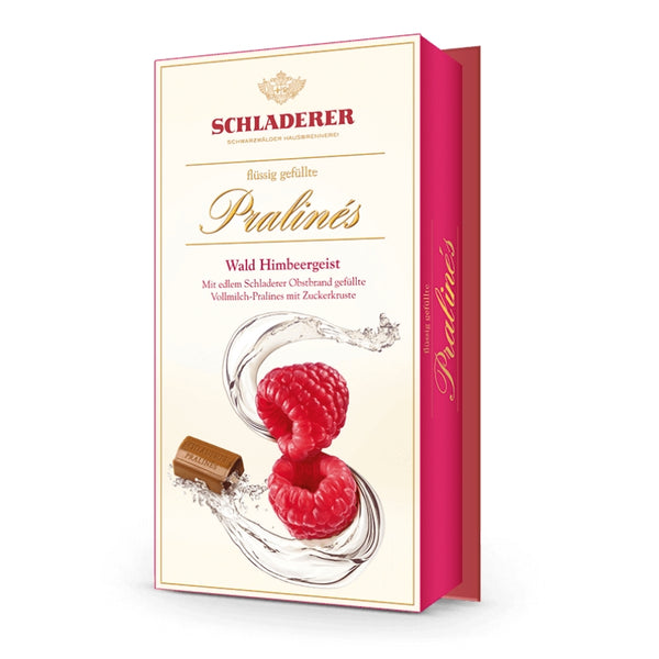 Schladerer Liquor Filled Pralines Raspberry - Chocolate & More Delights