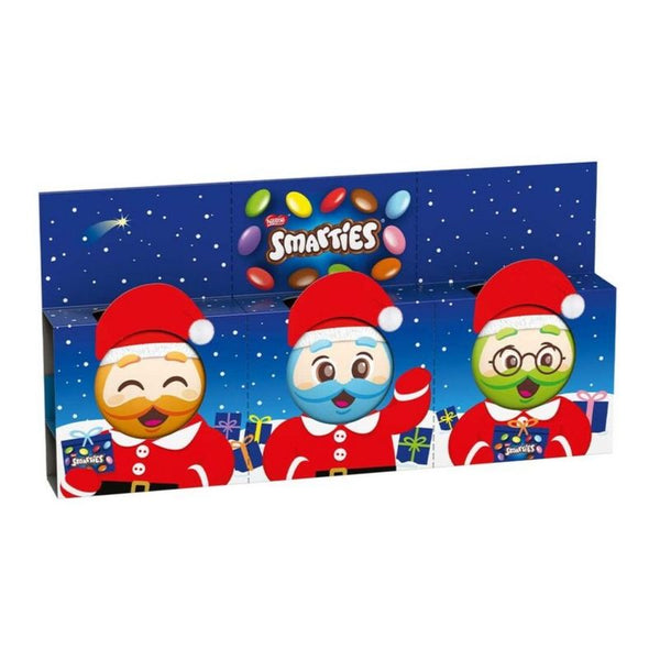 Smarties Mini Santa Trio - Chocolate & More Delights