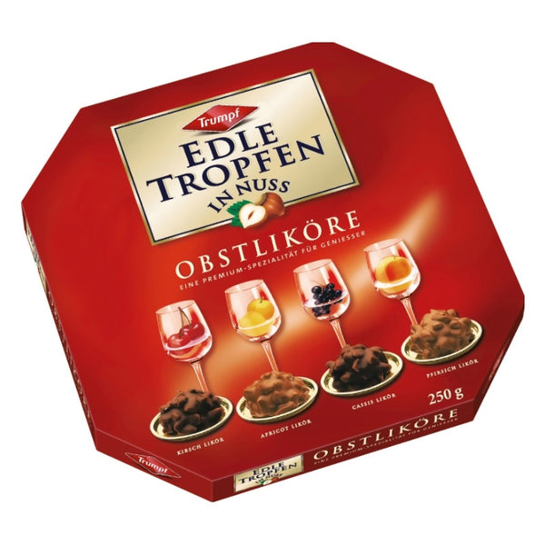 Trumpf Liquor Filled Pralines Fruity Variety - Chocolate & More Delights
