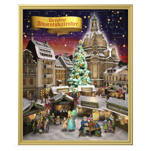 Vadossi Advent Calendar with Stollen Confectionery - Chocolate & More Delights