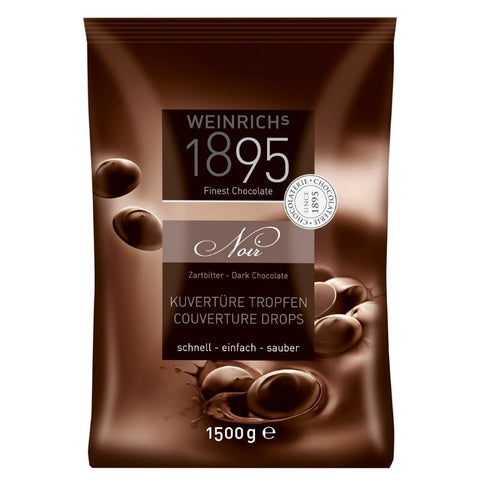 Weinrich Dark Chocolate Couverture - Chocolate & More Delights