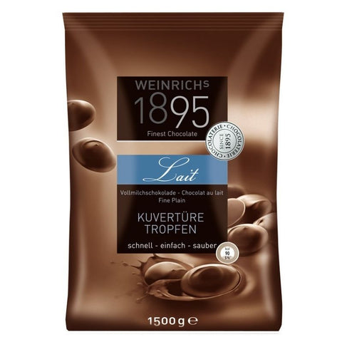 Weinrich Milk Chocolate Couverture - Chocolate & More Delights