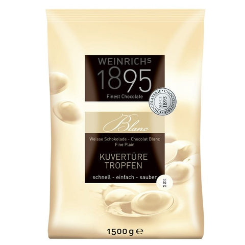 Weinrich White Chocolate Couverture - Chocolate & More Delights