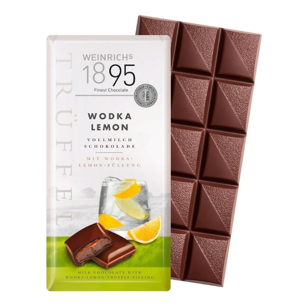 Weinrich's 1895 Milk Chocolate Vodka Lemon - Chocolate & More Delights