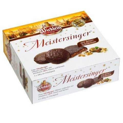Wicklein Meistersinger Gingerbread Mix Chocolate - Chocolate & More Delights