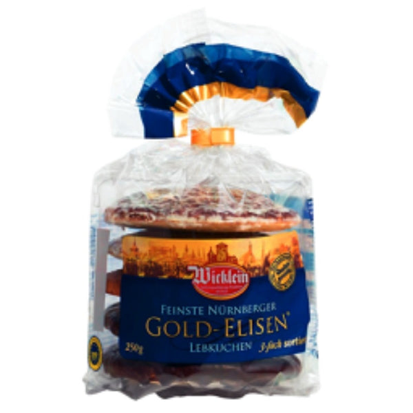 Wicklein Elisen Gingerbread Gold - Chocolate & More Delights