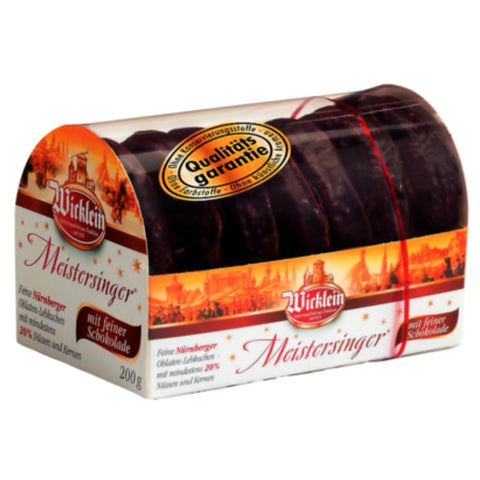 Wicklein Meistersinger Gingerbread Chocolate - Chocolate & More Delights