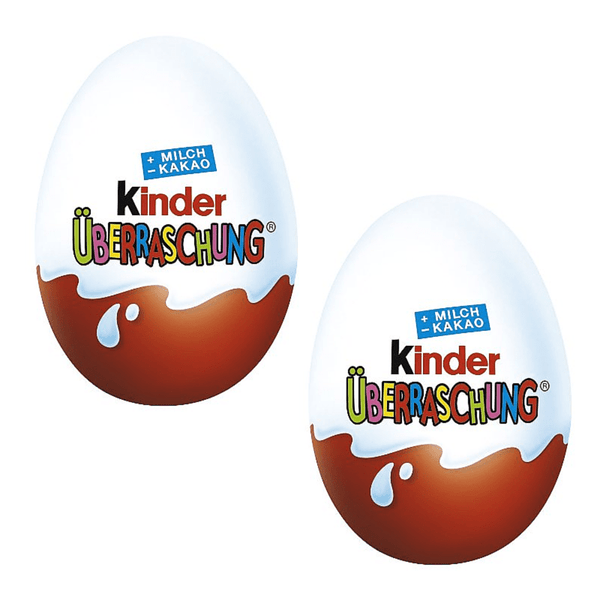 Kinder Surprise Eggs (12 eggs) - Chocolate & More Delights