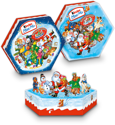 Kinder X-Mas Mixed Platter-Chocolate & More Delights