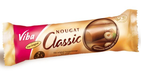 Nougat Bar Classic Jumbo-Nougat-Chocolate & More Delights