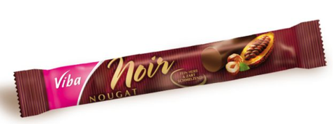 Nougat Bar Noir-Nougat-Chocolate & More Delights