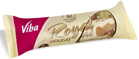 Nougat Bar Royal Jumbo-Nougat-Chocolate & More Delights