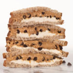 cookie dough sandwich square