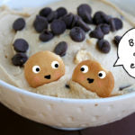 Peanut Butter Tagalong Party Dip finished with illustration