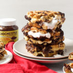 Chocolate Hazelnut Waffle S'mores - Finished 2
