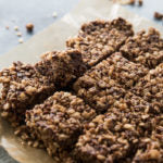 Chocolate hazelnut crispy treats beauty 1