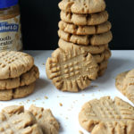 Brown Butter Peanut Butter Cookies beauty shot