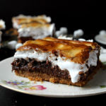 Chocolate Hazelnut S'mores Brownies beauty