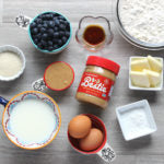 Almond and Cashew Butter Blueberry Pancakes Ingredients