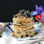 Almond and Cashew Butter Blueberry Pancakes Finished 1