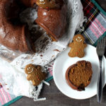 Dark Chocolate Dreams Peanut Butter Gingerbread Bundt Cake Finished 2