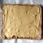 White Chocolate Wonderful Peanut Butter Yule Log Cake Step 6