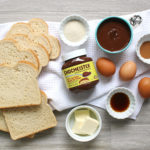 Chocolate Hazelnut French Toast Ingredients