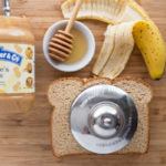 Peanut Butter, Banana & Honey Crustless Sandwich Ingredients