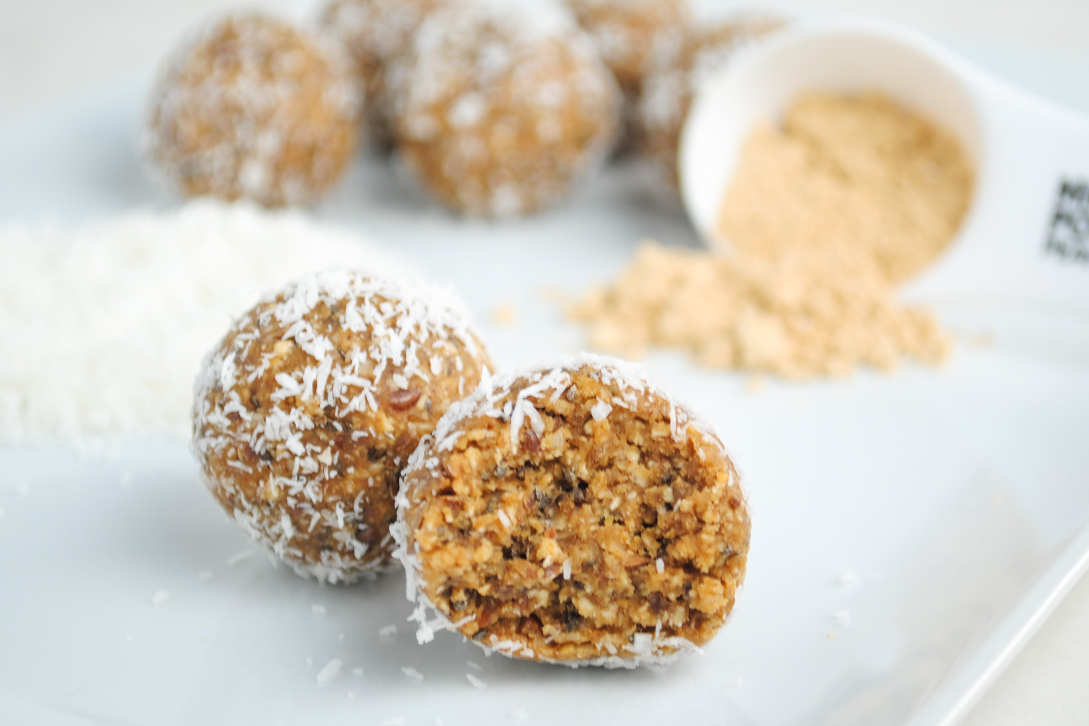 Peanut Butter Coconut Energy Balls