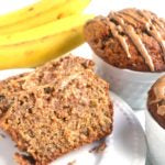 Almond Cashew Butter Banana Bread