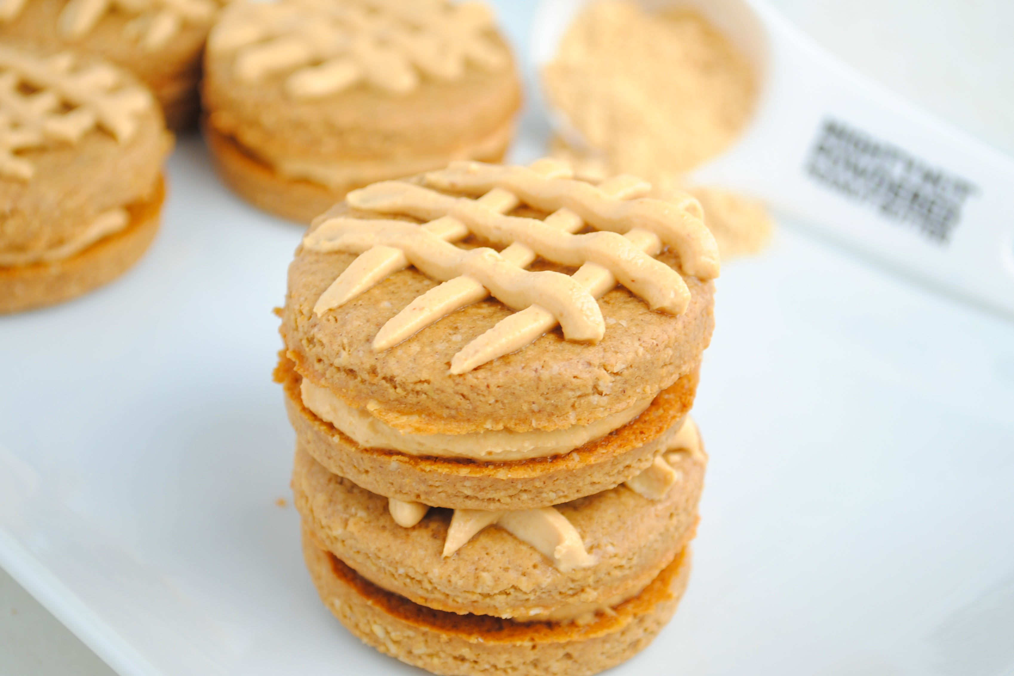 Double Peanut Butter Sandwich Cookies