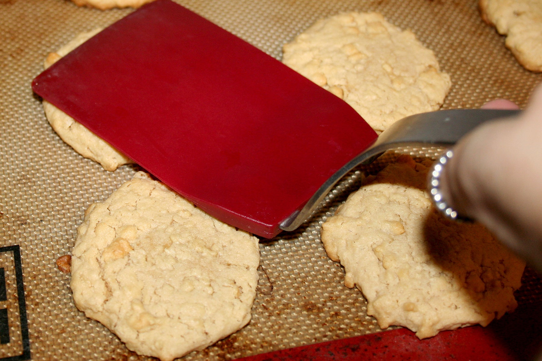 Homemade Girl Scout Cookies: Smooth Operator Do-Si-Dos® - Bake for 10-12 minutes