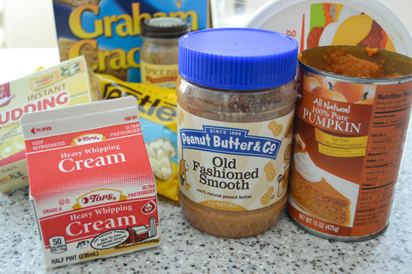 Peanut Butter Pumpkin Eclair Cake Ingredients - Peanut Butter & Co. Old Fashioned Smooth peanut butter