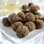 Chocolate Peanut Butter Rum Balls