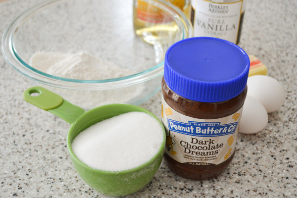 Chocolate Peanut Butter Rum Balls Ingredients - Dark Chocolate Dreams peanut butter