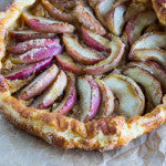 Peanut Butter Apple Galette