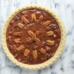 Chocolate Peanut Butter Pecan Pie