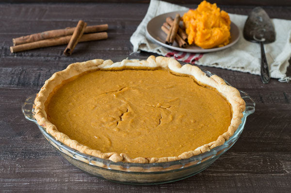 Sweet Potato Peanut Butter Pie - Refrigerate at least 2 hours before serving