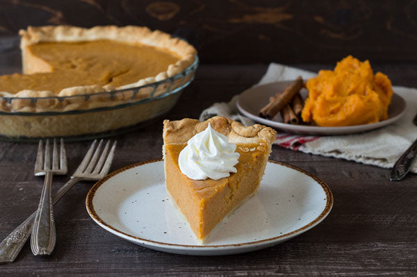Sweet Potato Peanut Butter Pie