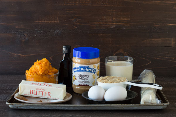 Sweet Potato Peanut Butter Pie Ingredients - Peanut Butter & Co. Mighty Maple peanut butter