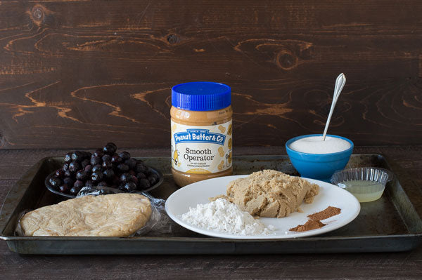 Gluten Free Peanut Butter Streusel Blueberry Pie Ingredients - Peanut Butter & Co. Smooth Operator peanut butter